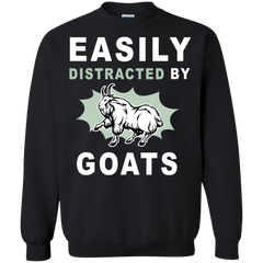Animal Goats T-shirts Easily Distracted By Goats Shirts Hoodies Sweatshirts