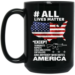 America Mug All Lives Matter Coffee Mug Tea Mug