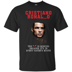 The D Is Missing Shirts Cristiano Ronaldo T shirts Hoodies Sweatshirts - TeeDoggie.Com
