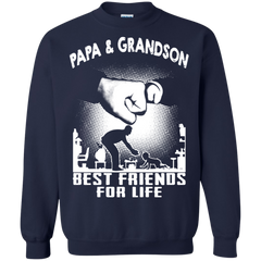 Father's Day Gift T-shirts Papa And Grandson Best Friend For Life Shirts Hoodies Sweatshirts