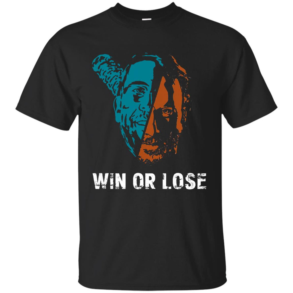 The Walking Dead Negan Rick Grimes T shirts Win Or Lose Hoodies Sweatshirts