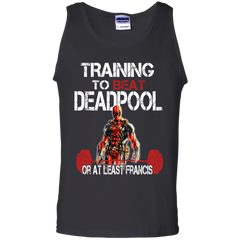 Deadpool T-shirts Training To Beat Deadpool Or At Least Francis Shirts Hoodies Sweatshirts