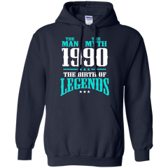 1990 Shirts The Man The Myth The Birth of Legends T-shirts Hoodies Sweatshirts