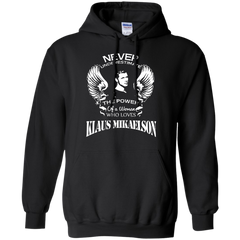 Vampires Diaries T-shirts Never Underestimate A Woman Who Loves Klaus Mikaelson Shirts Hoodies Sweatshirts - TeeDoggie.Com