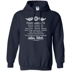 Supernatural Sam T-shirts Exorcism In Latin Shirts Hoodies Sweatshirts - TeeDoggie.Com