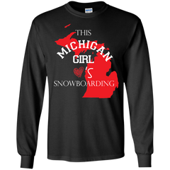 Michigan Girls snowboarding Shirts This Michigan Girl love snowboarding T-shirts Hoodies Sweatshirts