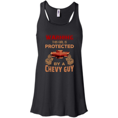 Chevrolet Chevy Guy T-shirts Warning This Girl Is Protected By A Chevy Guy Shirts Hoodies Sweatshirts