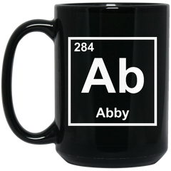 Abby Chemical Elements Mug I'm Abby Coffee Mug Tea Mug