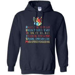 Autism Awareness T-shirts Angels Make A Difference In Misguided World Shirts Hoodies Sweatshirts