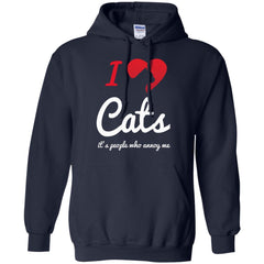 Cat Shirts It's People Who Annoy Me T-shirts Hoodies Sweatshirt
