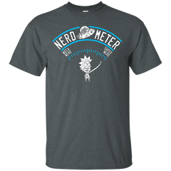 Rick And Morty Nerd Meter T shirts Hoodies Shirts