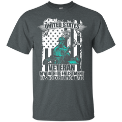 Veteran Shirts U.S.A  I'm a Veteran my Oath of Enlistment has no expiration date T-shirt Hoodies Sweatshirts - TeeDoggie.Com