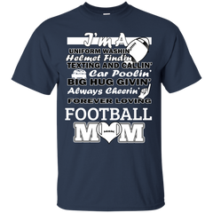 Mother's Day Gift T-shirts Football Mom Shirts Hoodies Sweatshirts