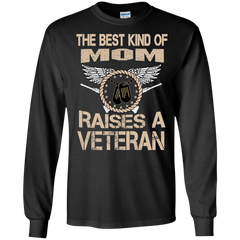 Mother's Day Family T-shirts The Best Kind Of Mom Raises A Veteran Shirts Hoodies Sweatshirts