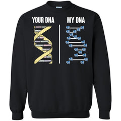 Central Connecticut Blue Devils T shirts Your DNA My DNA Hoodies Sweatshirts
