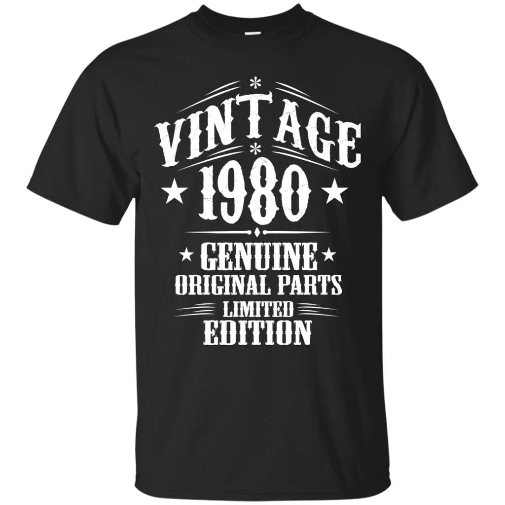 1980 Shirts Vintage Genuine Limited Edition T-shirts Hoodies Sweatshirts - TeeDoggie.Com