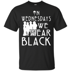 American Horror Story T-shirts  On Wednesday We Wear Black Shirts Hoodies Sweatshirts