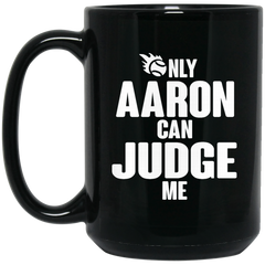 Aaron Judge New York Yankees Mug Only Aaron Can Judge Me Coffee Mug Tea Mug