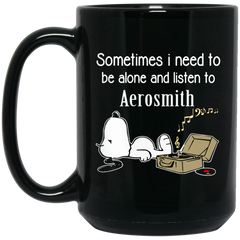 Aerosmith Mug Sometimes Need To Be Alone N Listen To Aerosmith Coffee Mug Tea Mug
