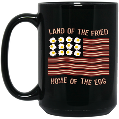 America Mug LAND OF FRIED HOUSE OF EGG Coffee Mug Tea Mug
