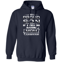 Mother's Day Gift T-shirts I'm A Pround Son Of A Freaking Awesome Mom  Shirts Hoodies Sweatshirts
