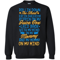 Family Shirts My Mommy on my mind T-shirts Hoodies Sweatshirts