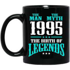1995 Mug The Man The Myth The Birth of Legends Coffee Mug Tea Mug