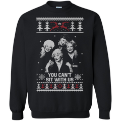 christmas ugly sweater golden girls you cant sit with us hoodies sweatshirts