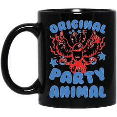 America Animal Mug ORIGINAL PARTY ANIMAL Coffee Mug Tea Mug