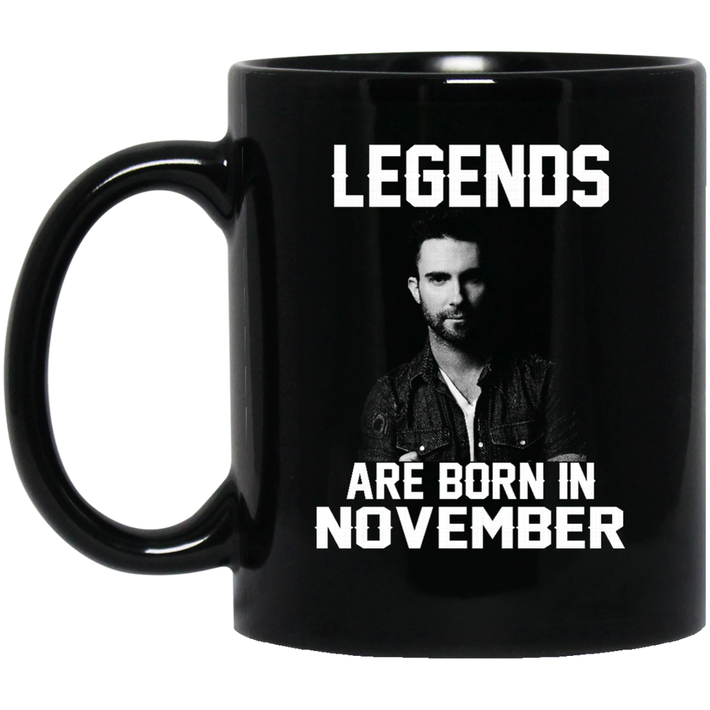Adam Levine Mug Legends Are Born In November Coffee Mug Tea Mug