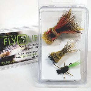 Bass Popper Fly Pack