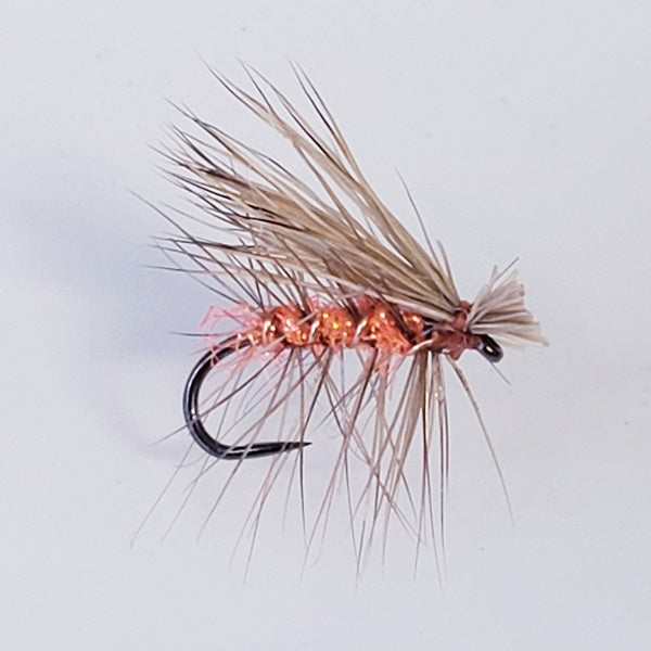 Elk Hair Caddis Orange