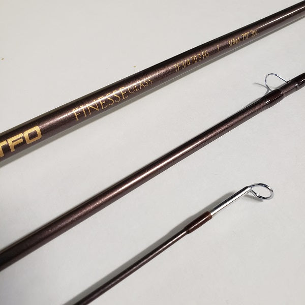 "TFO Finesse Trout Glass Rod 7'0"" 3/4wt"
