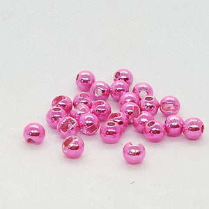 Tungsten Slotted Metallic Beads