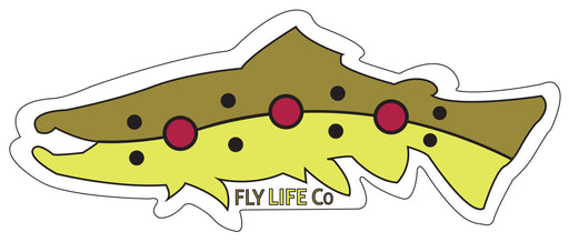 Brown Trout Sticker