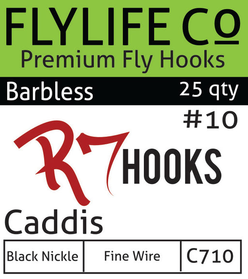 R7 Barbless Caddis Hook