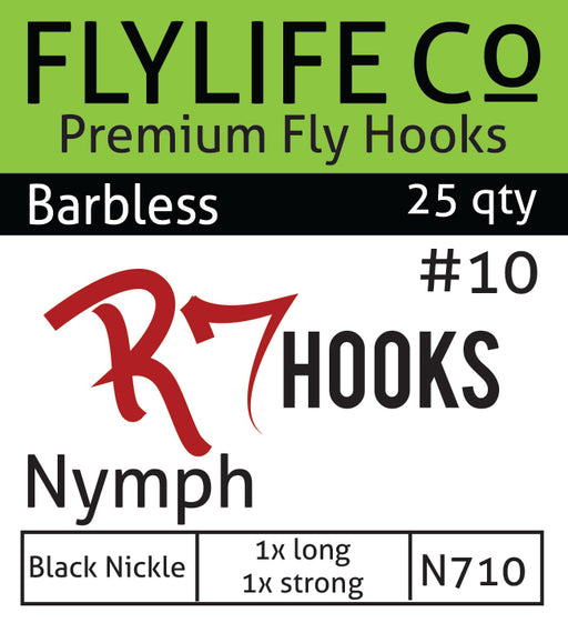 R7 Barbless Nymph Hook