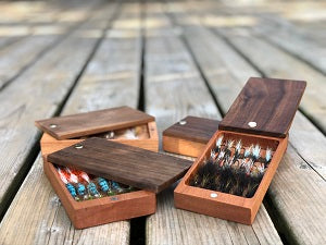 TIMBER & FINS Fly Box