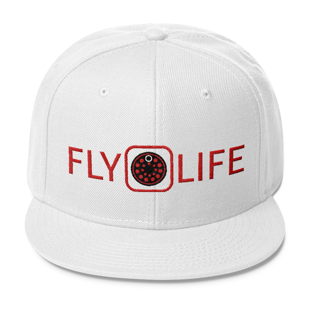 Fly Life Wool Blend Snapback