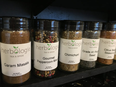 Spices, Salts & Seasonings