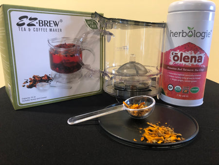 Hawaiian Red Turmeric Tea Gift Set