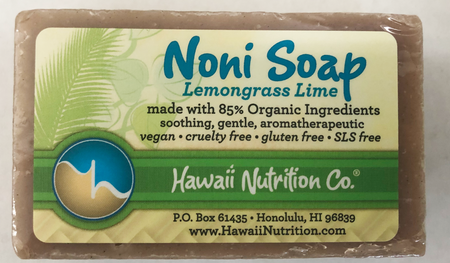 Noni Soap Bar - Lemongrass Verbena