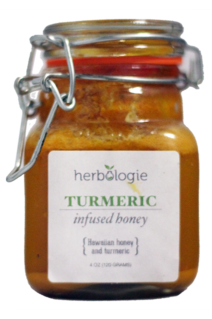 Turmeric Spiced Organic Hawaiian Honey by Hebologie