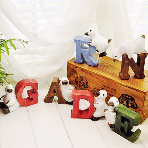 Super Cute Duckling Tease - handmade resin letters Decoration