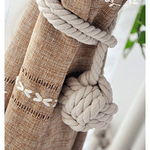 Hand Knitting Curtain Rope