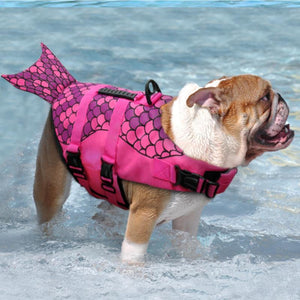 Dog Life Jacket | Size:- Small | Mermaid