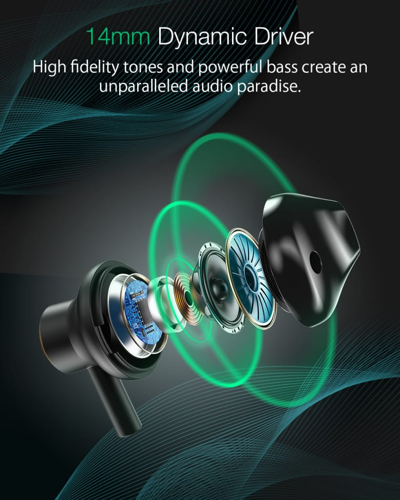 Wireless Earbuds Bluetooth 5.0 Earphone Hifi Stereo Magnetic