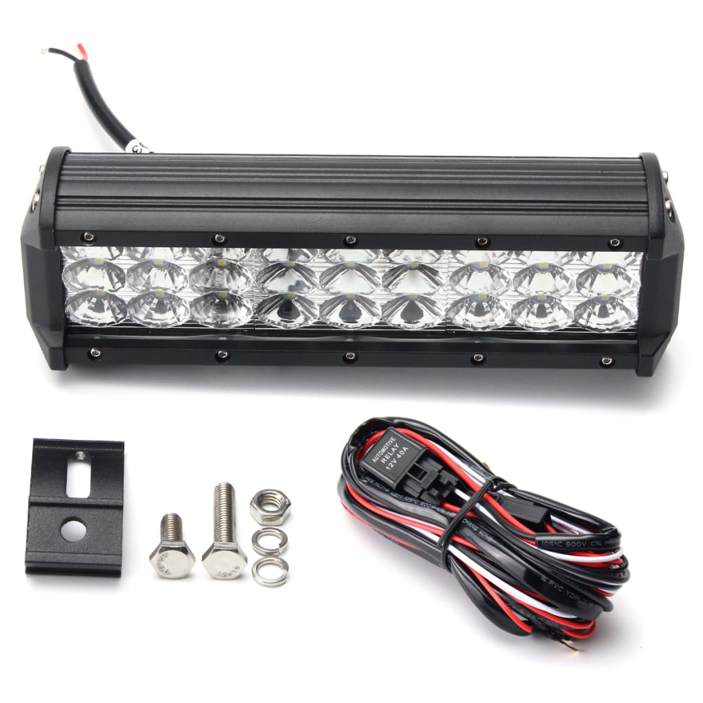 9 Inch 135w Led Light Bar Flood Spot Combo off Road Car