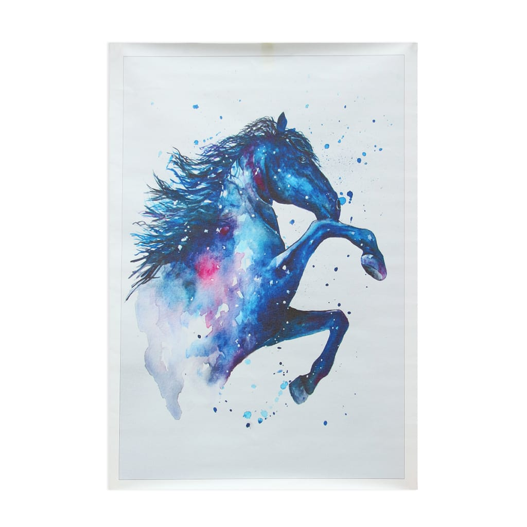 Watercolour Fairy Horse Picture Canvas Unframed Paintings -