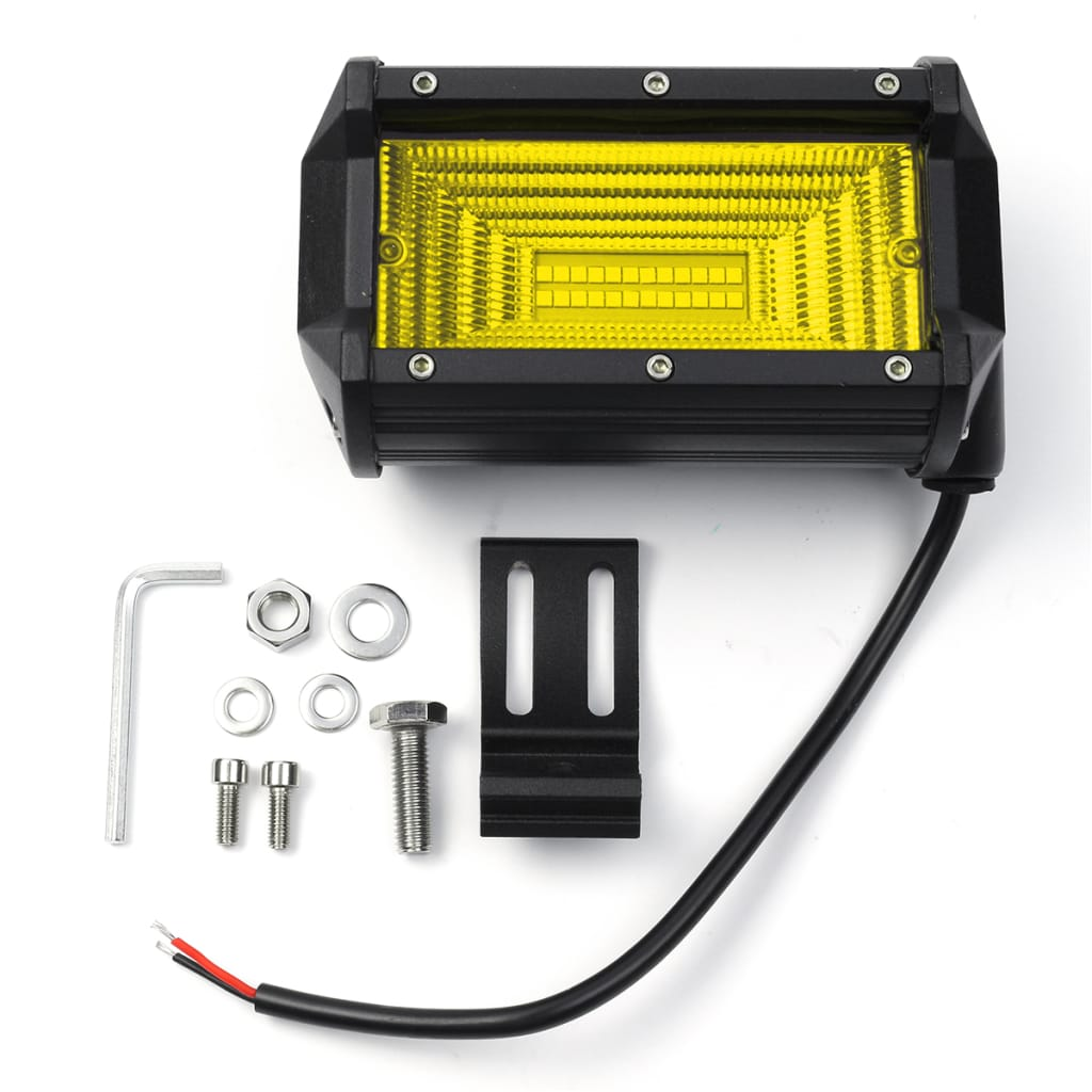 5 Inch 24led 72w 7200lm Led Work Light Flood Beam for Jeep